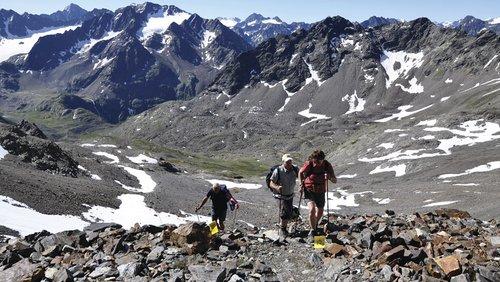 Gletscherpanoramamarsch
