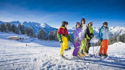 Skifahren im Ötztal