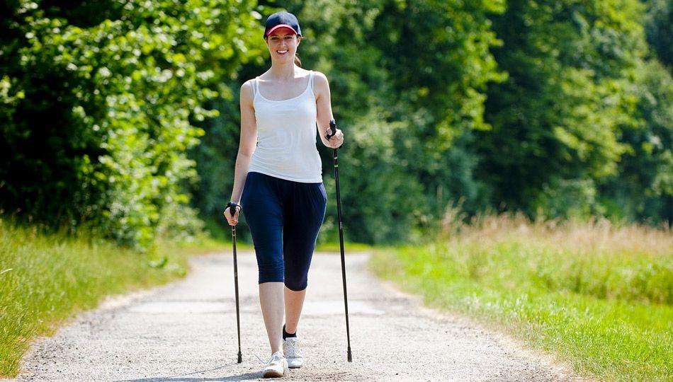 correre/ nordic walking /passeggiare