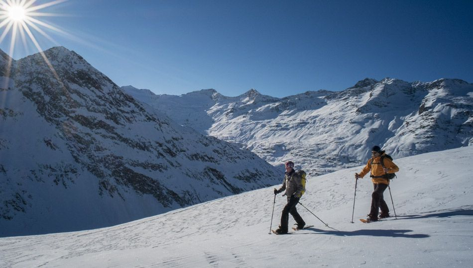 Winterwandelen / sneeuwschoenwandelen
