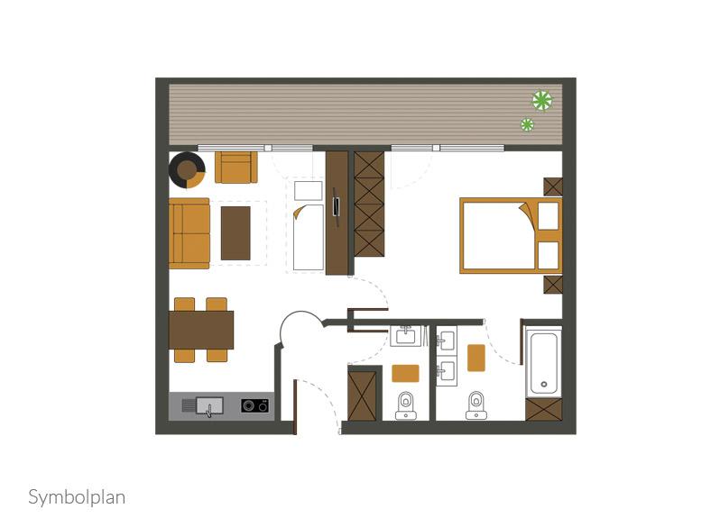 Appartement Typ III (Přízemí)