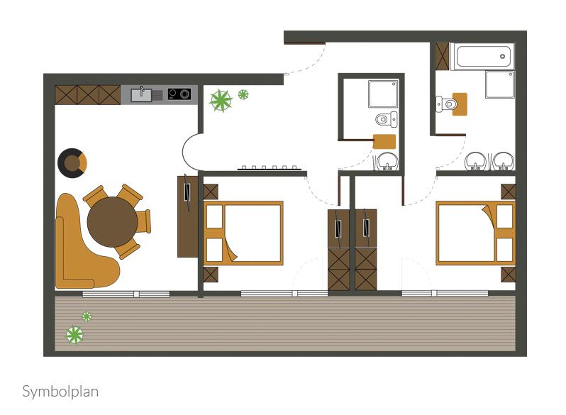 Appartement Typ VI (földszint)