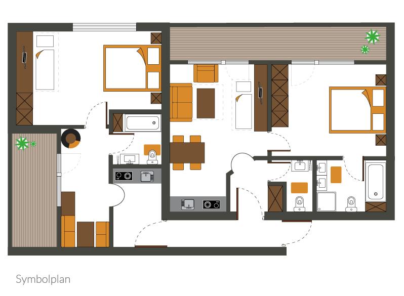 Appartement Typ VI (Standardní)